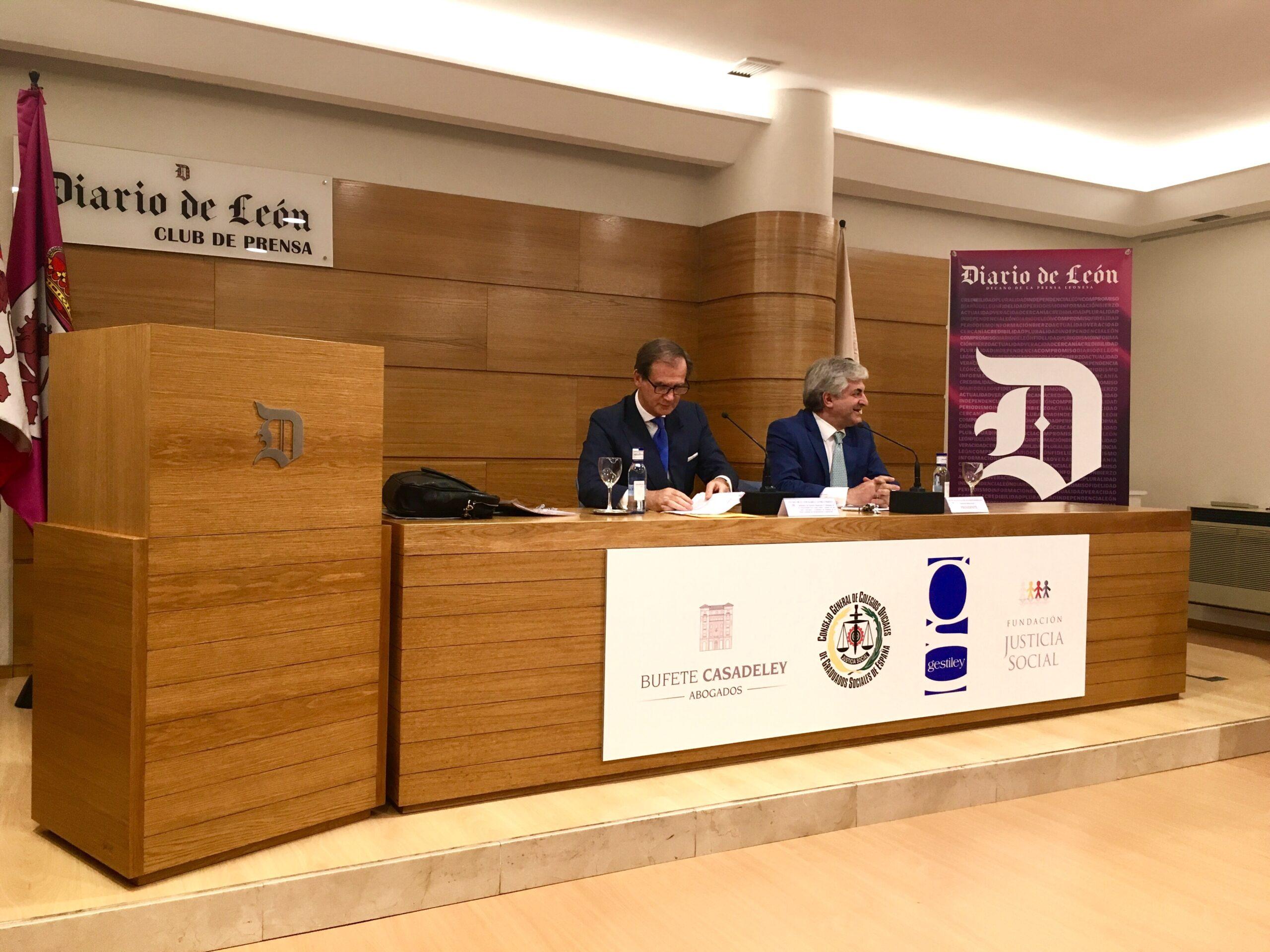 Éxito de la conferencia de Luis Cazorla y Javier San Martín