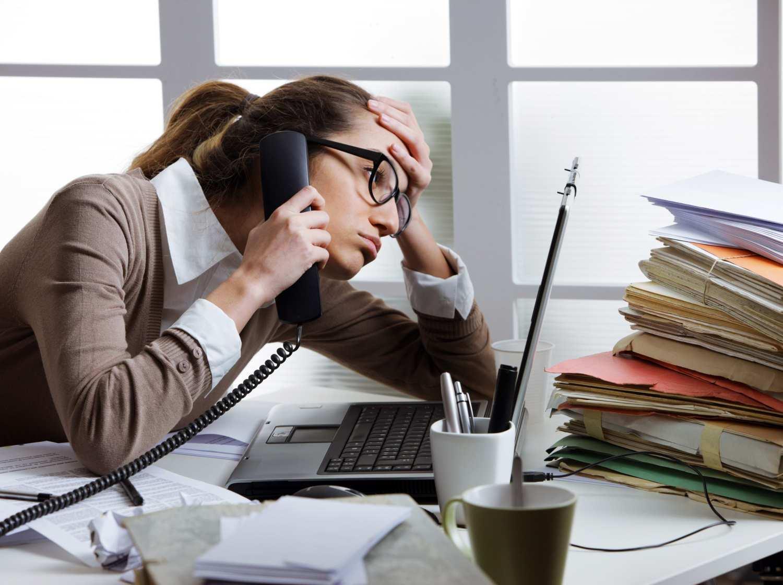 El estrés como accidente laboral