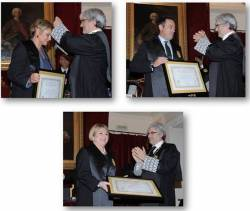 Nombramiento de Graduados Sociales de honor