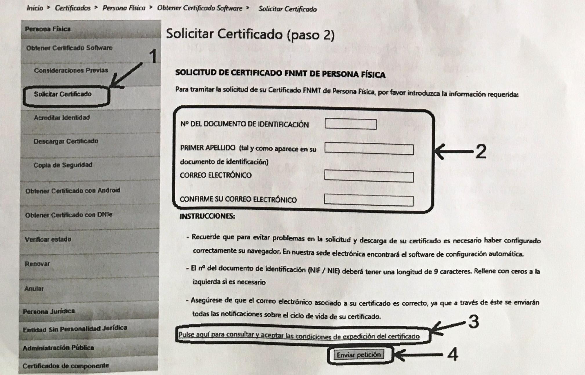 C mo obtener o solicitar certificado digital o eletr nico for Oficina certificado digital