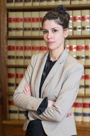 Rocio Hidalgo secretaria Bufete Casadeley Madrid