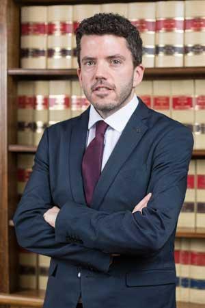 Iker Berges, abogado mercantil en Bufete Casadeley Madrid